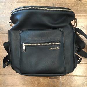 Black Fawn Design Diaper Bag